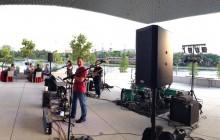 Tampa Band Luna Blue plays Tampa Museum of Art 2014